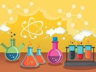 科学和化学矢量设计