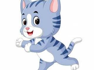 可爱猫咪卡通