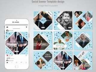 社交媒体发布模板