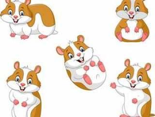 可爱的卡通仓鼠收藏集