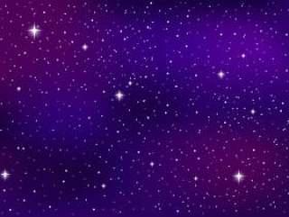 紫外线银河背景