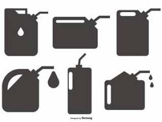 加油机/油可以收集形状