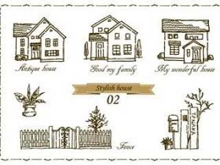 房子家庭手绘粗糙02