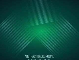绿色背景与抽象的闪亮线