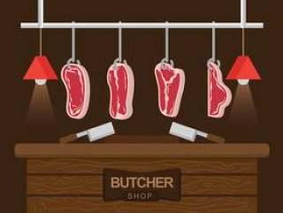 屠杀小牛肉传染媒介例证