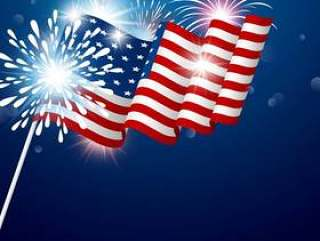 美国7月独立日4日