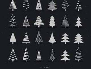 20不同的圣诞树设计方案集