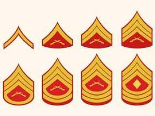 平的海军陆战队等级向量