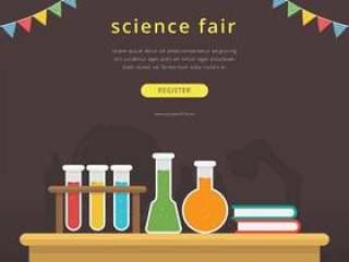 科学博览会和创新博览会模板