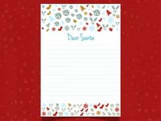 给圣诞老人的圣诞信