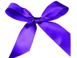 紫色蝴蝶结PSD