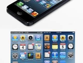 高分辨率iPhone5平面设计素材&iPhone5网页设计素材与IOS6.0原始尺寸图标