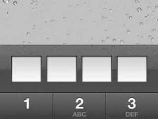 苹果iPhone5屏幕锁GUIpsd分层素材