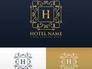 酒店品牌标志设计与字母H