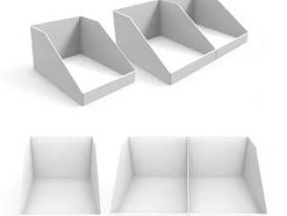 多角度空白展示盒PSD文件