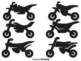 矢量摩托车越野摩托车图标