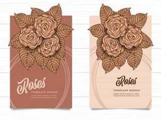 在白色木背景的模板玫瑰色葡萄酒样式褐色颜色