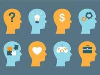 男性的大脑和思维向量