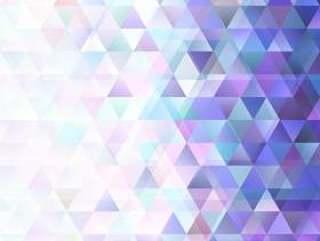 复古几何渐变三角形图案背景设计