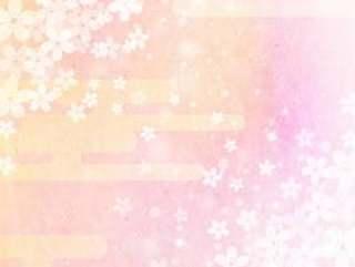 樱花_粉红色_日本纸背景_垂直1615