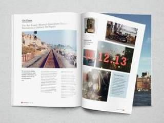 画册/杂志PSD智能展示模板