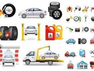 汽车维修主题