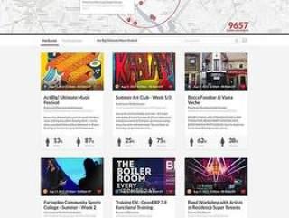 企业网站模板PSD分层
