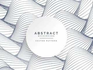 抽象的曲线线条图案背景设计