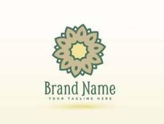 创意花卉风格标志概念设计