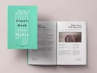 平装Psd Book Mockup