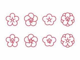 梅花设置图标