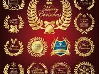 圣诞节/框架/冬天材料集合