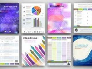 信息图表单页