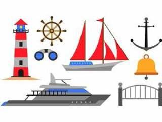 一套港口图标