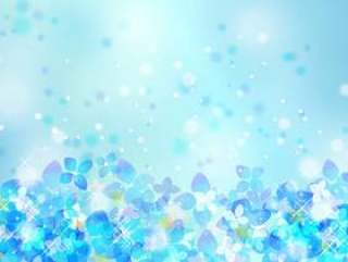 季节性事件材料007绣球花背景