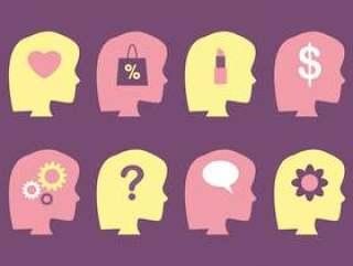 女性的大脑和思维向量