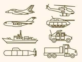 平的军事武器载体