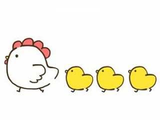 【鸡年】鸡鸡【新年贺卡/新年】