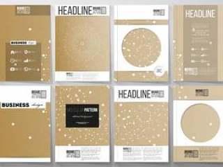 宣传册,杂志,传单,小册子的A4模板,