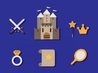 平的修道院图标