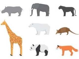 野生动物标志
