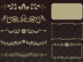 设置材料018日式古董