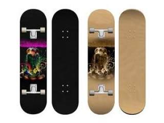 精美花纹滑板——psd分层素材