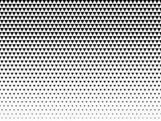 三角形图案设计半色调矢量