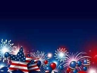 美国7月4日独立日快乐