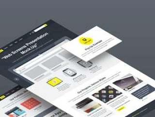 Web屏幕透视模拟