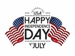 美国独立日。