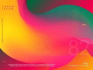 抽象流体颜色渐变形状背景