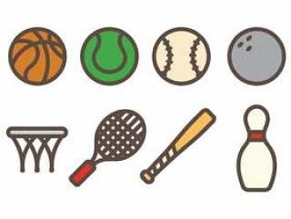 体育图标矢量