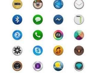 手机按钮图标设计